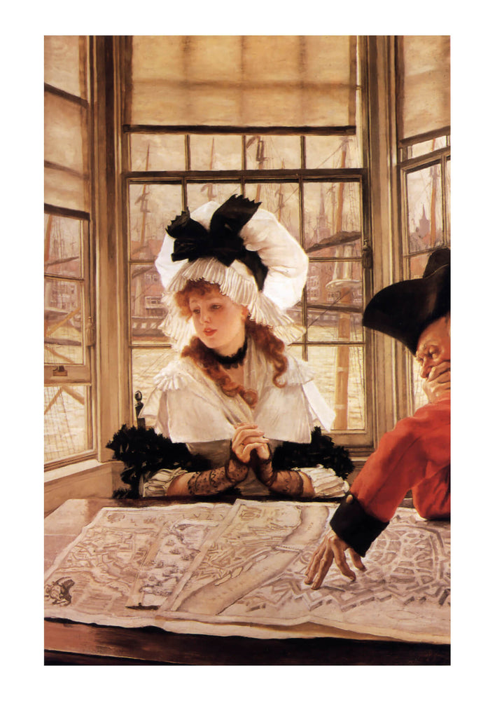 James Tissot - The Tedious Story