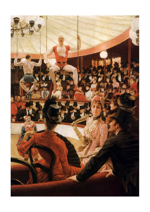 James Tissot - Women of Paris The Circus Lover