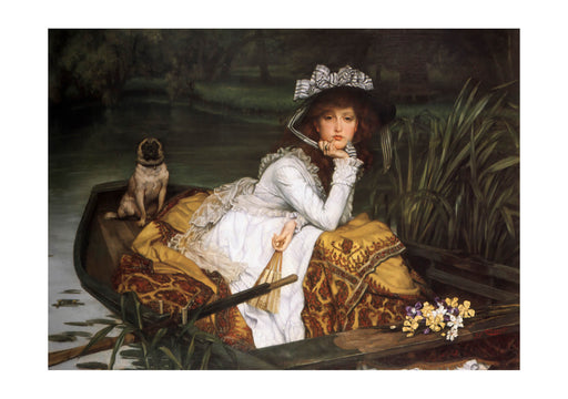 James Tissot - Young Lady in a Boat