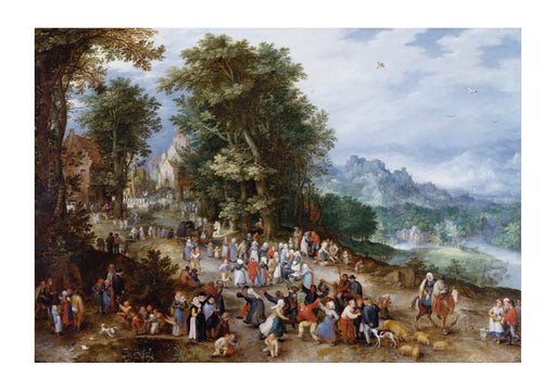 Jan Brueghel The Elder - Flemish Fair