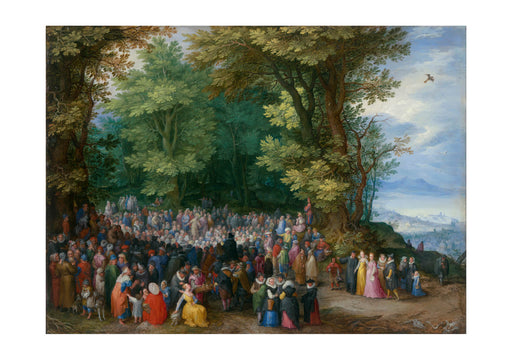 Jan Brueghel The Elder - The Sermon On The Mount
