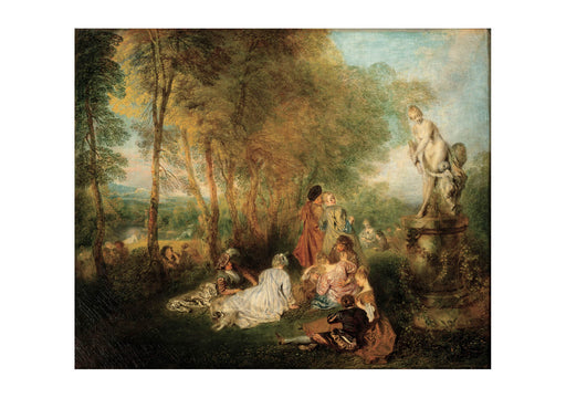 Jean Antoine Watteau - The Feast of Love