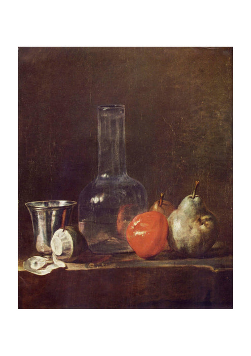 Jean Chardin - Still life on Table