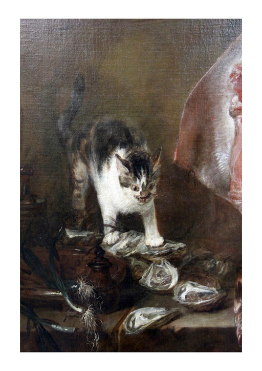 Jean Chardin - The Cat