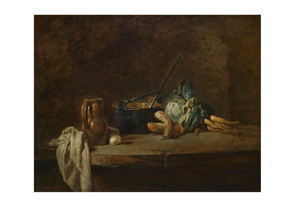 Jean Chardin - Vegetables for the Soup