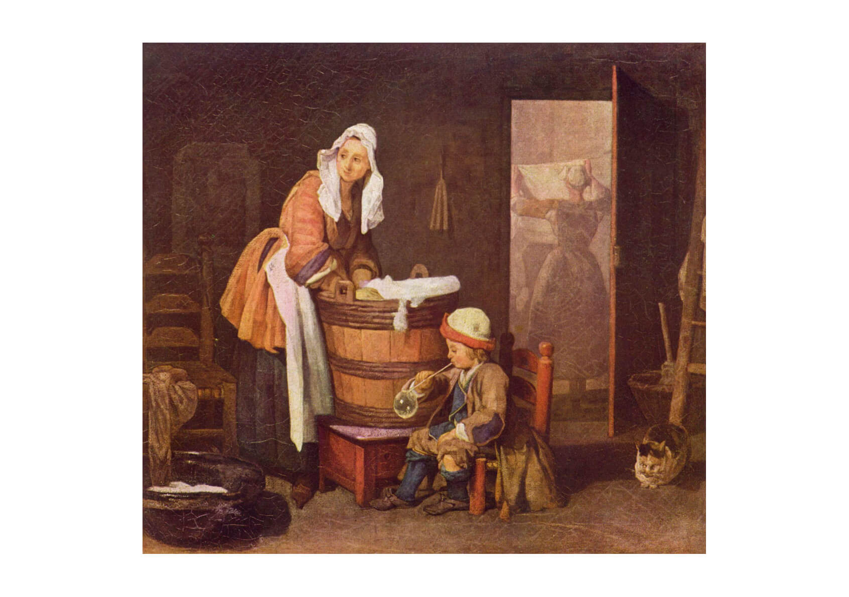 Jean Chardin - Washing
