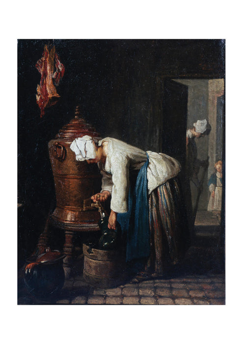 Jean Chardin - Woman Drawing Water at the Cistern