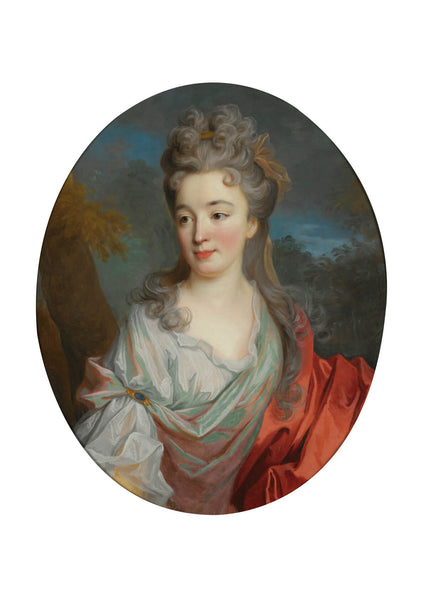 Jean Oudry - Portrait of a lady