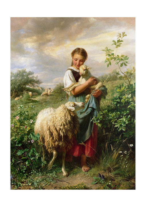 Johann Baptist - Hofner The Shepherdess 1866