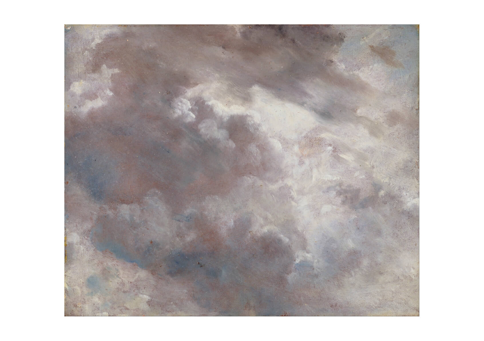 John Constable - Cloud Study Thick Clouds