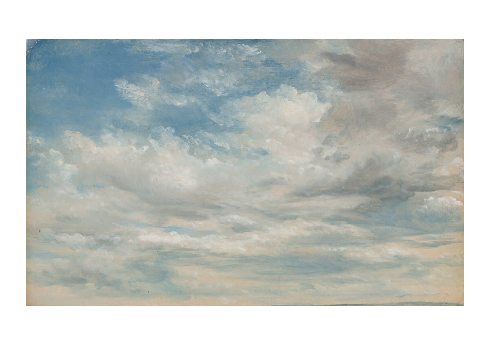 John Constable - Clouds
