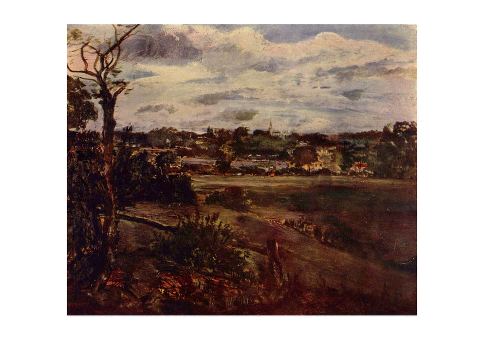 John Constable - Dark Field