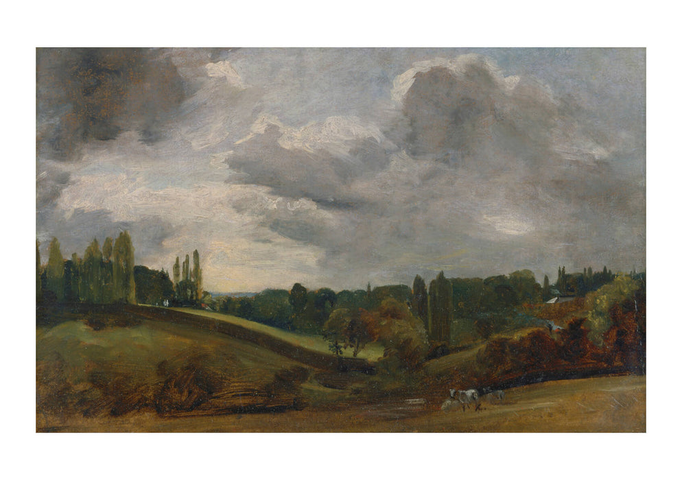 John Constable - East Bergholt