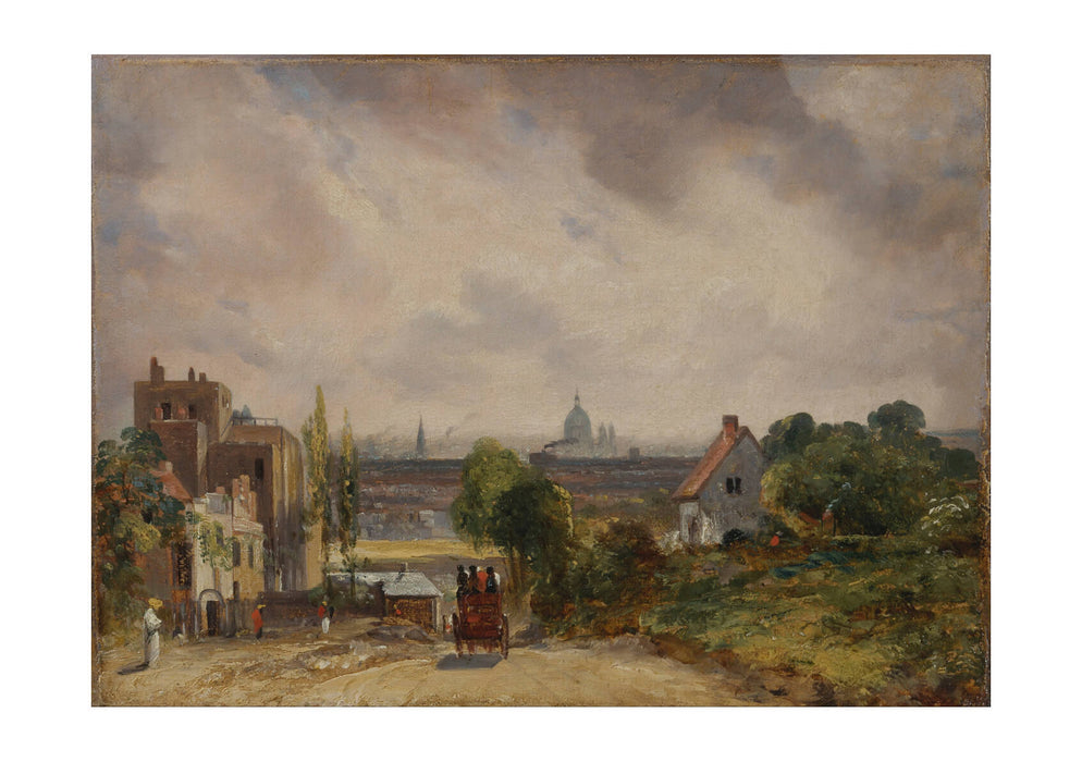 John Constable - Sir Richard Steeles Cottage Hampstead