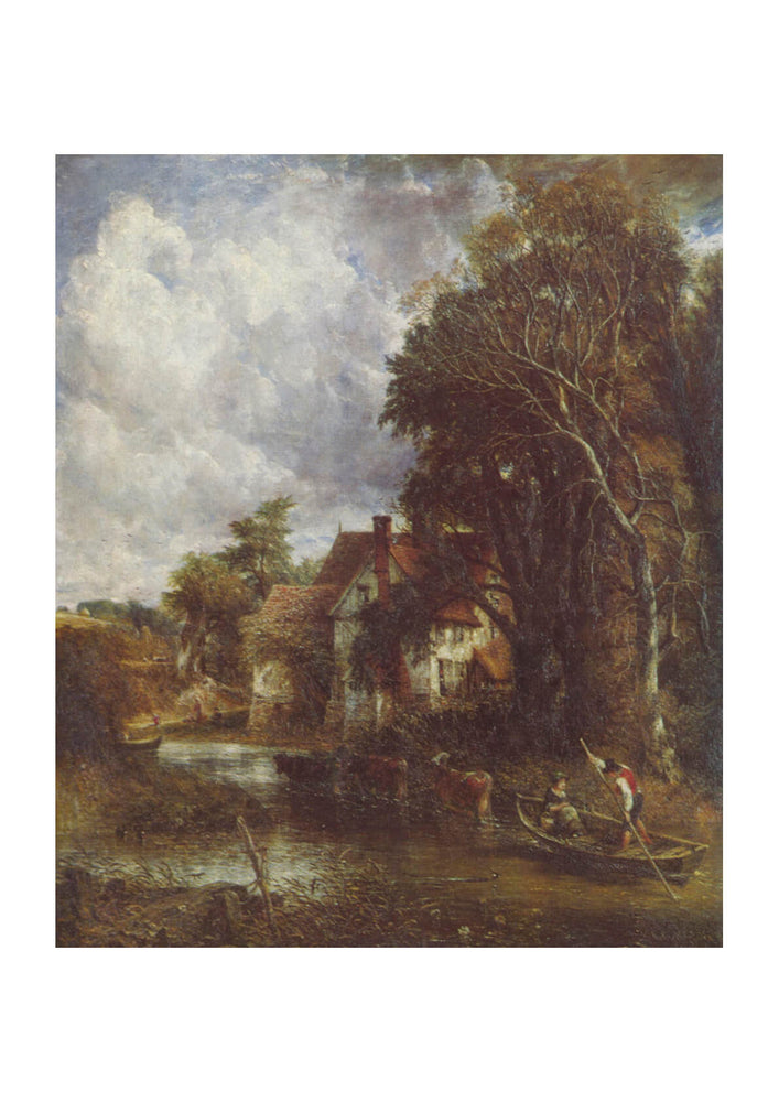 John Constable - Sky and Trees