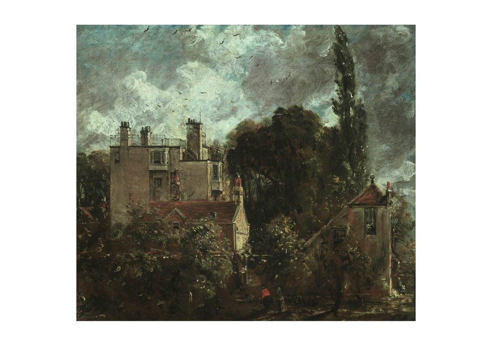 John Constable - The Grove or the Admirals House in Hampstead