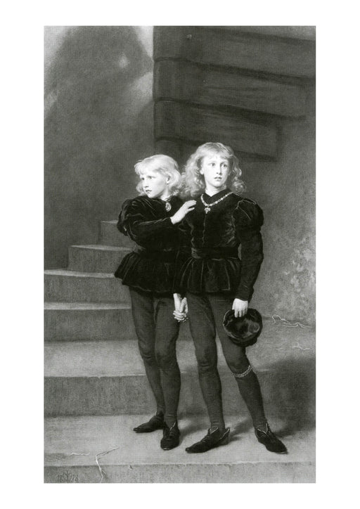 John Everett Millais - The Princes in the Tower