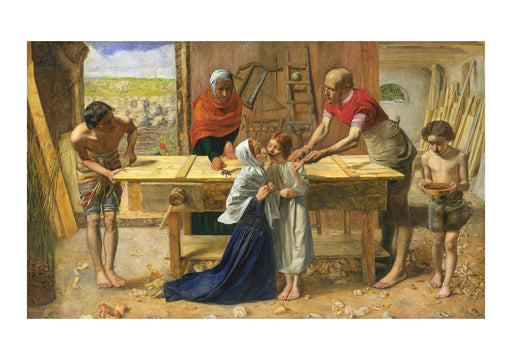 John Everett Millais Christ in the House of His Parents (`The Carpenter's Shop')