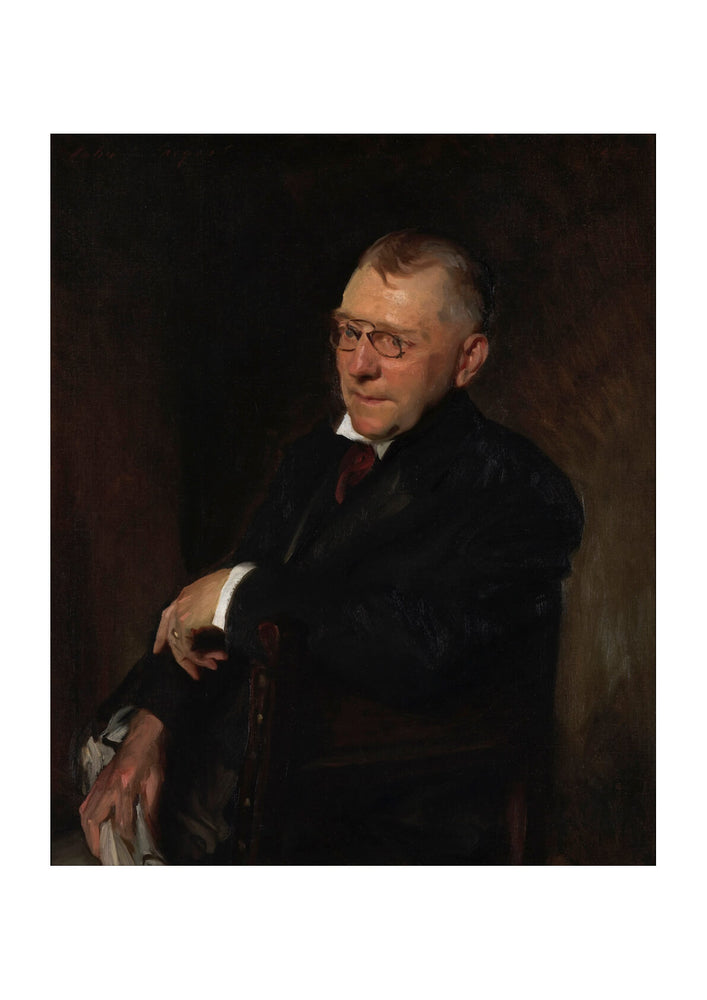 John Singer Sargent - Portrait of James Whitcomb Riley