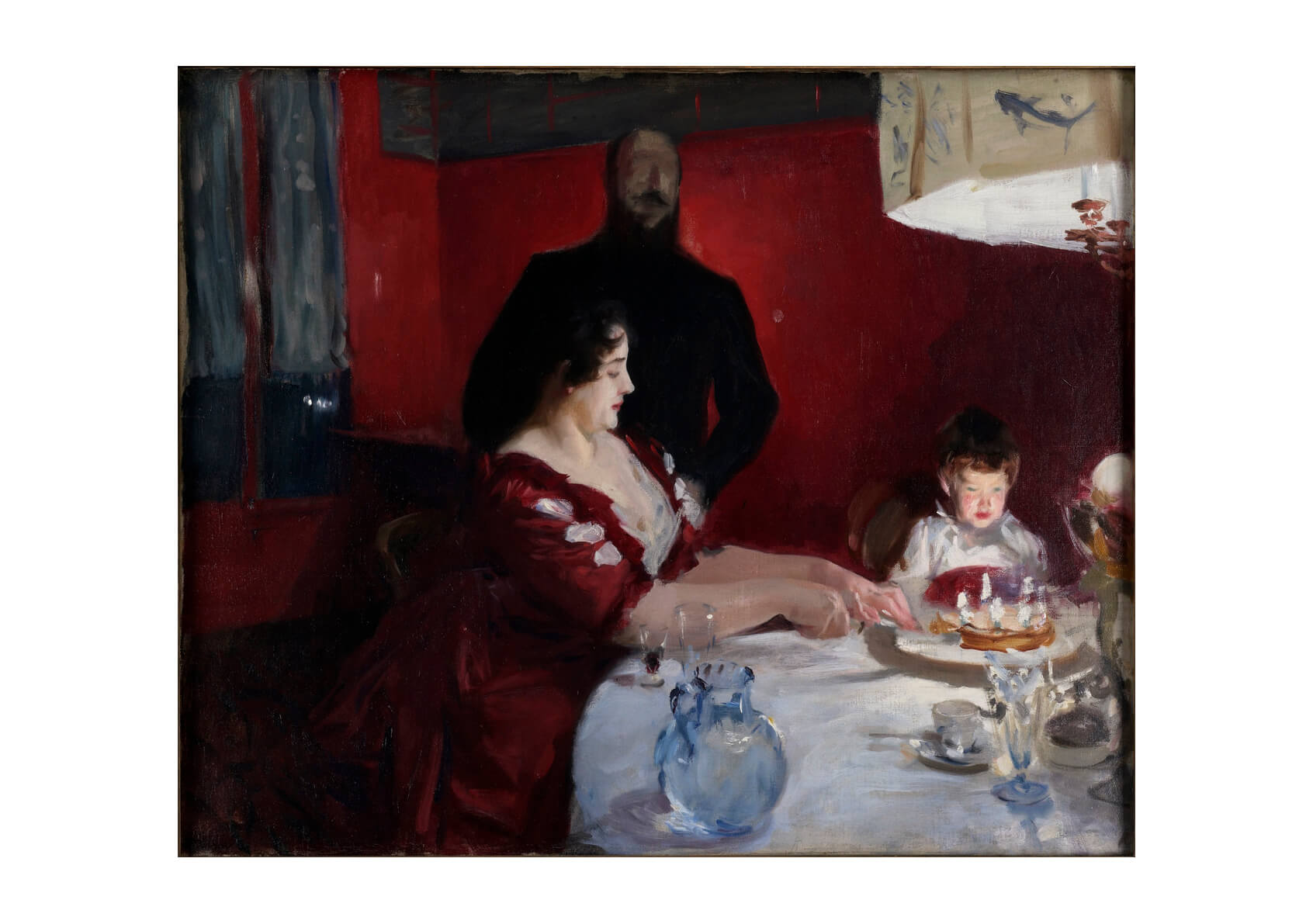 John Singer Sargent - The Birthday Party