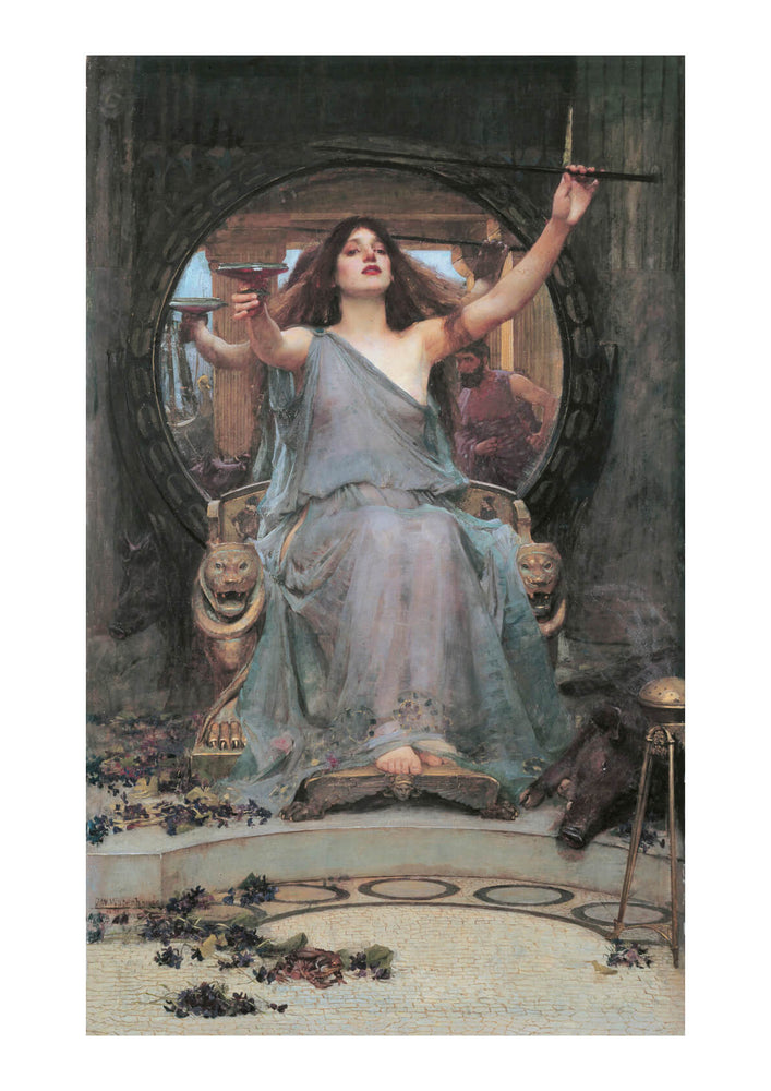 John William Waterhouse - Circe Offering Cup to Odysseus