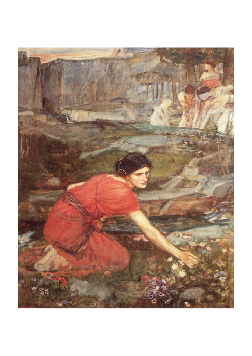 John William Waterhouse - Maidens Picking Flowers