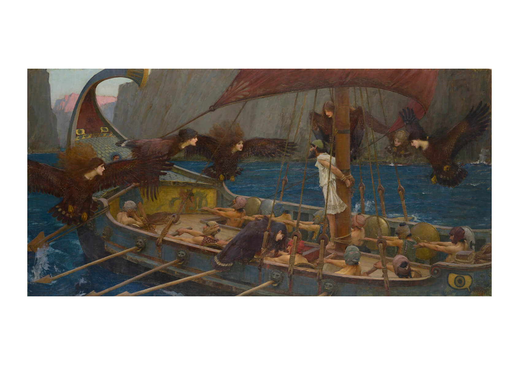 John William Waterhouse Ulysses and the Sirens