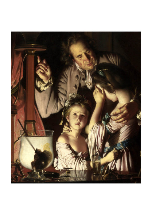 Joseph Wright - An Experiment on a Bird in the Air Pump Child