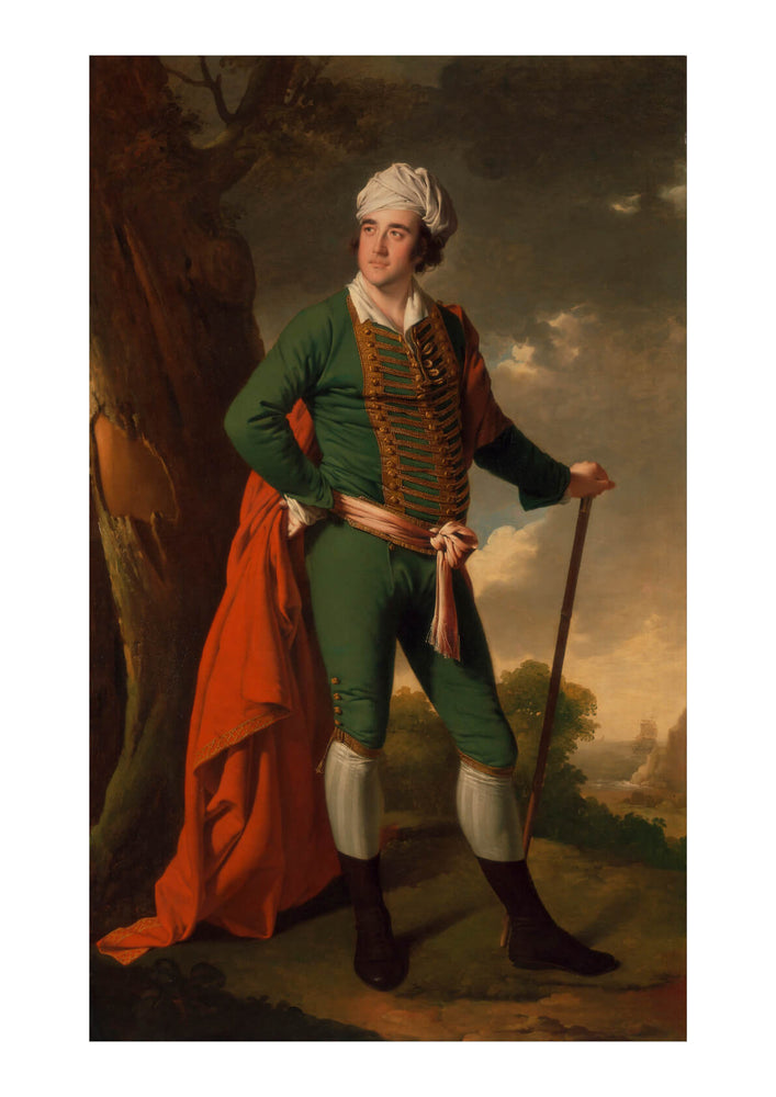 Joseph Wright - The Indian Captain
