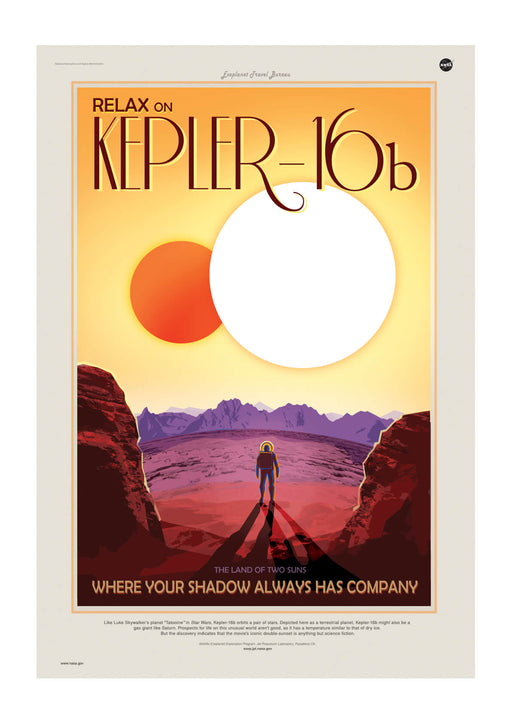 Kepler-16b NASA Space Tourism