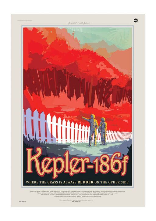 Kepler-186f NASA Space Tourism