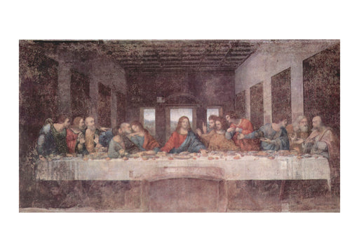 Leonardo Da Vinci - Last Supper faded