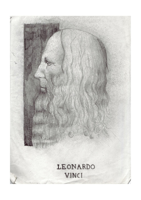 Leonardo Da Vinci - Profile Reproduction
