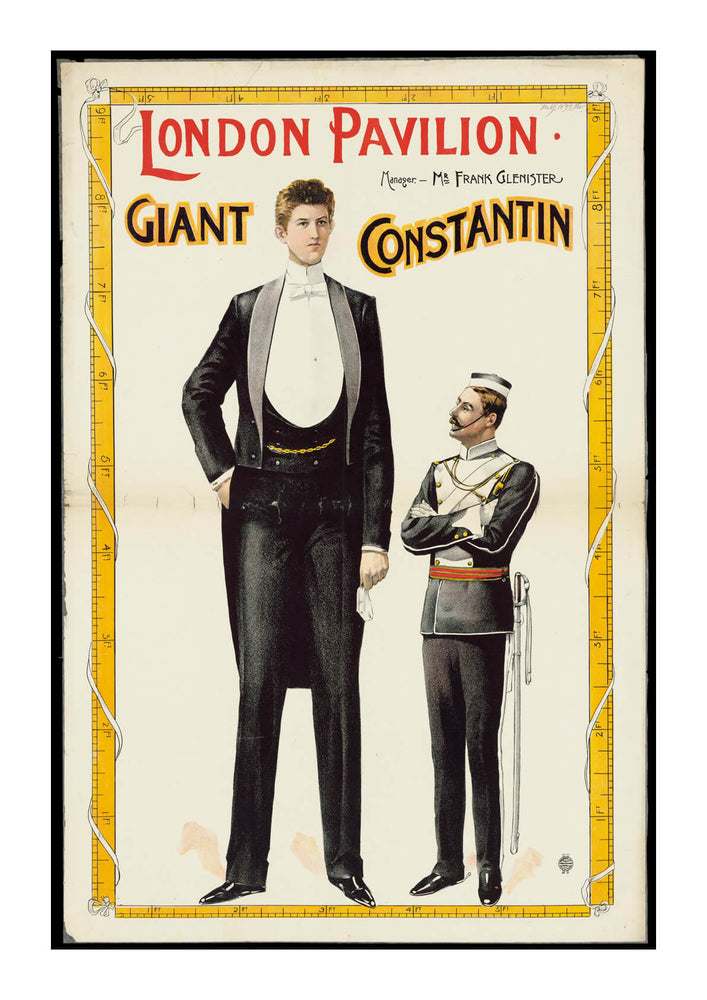 London Pavilion Giant Constantin
