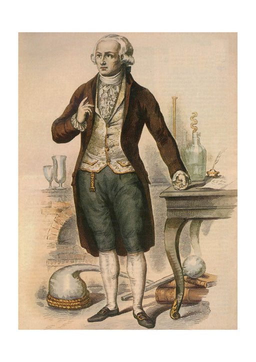 Louis Leopold Boilly - Antoine-Laurent Lavoisier