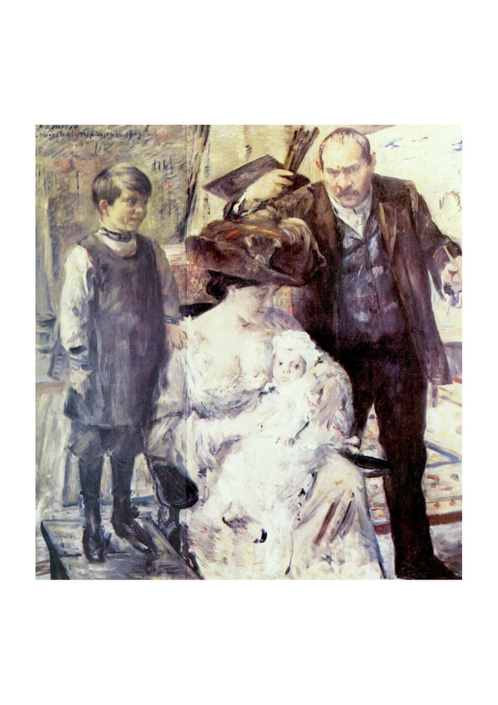 Lovis Corinth - Family Portrait