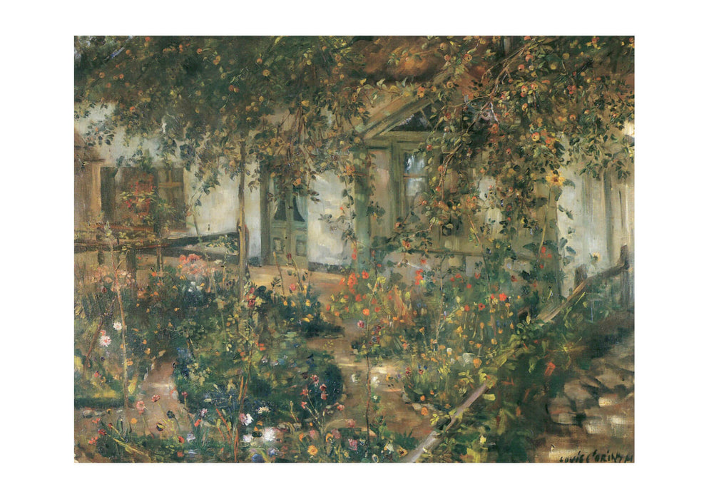 Lovis Corinth - House with Garden