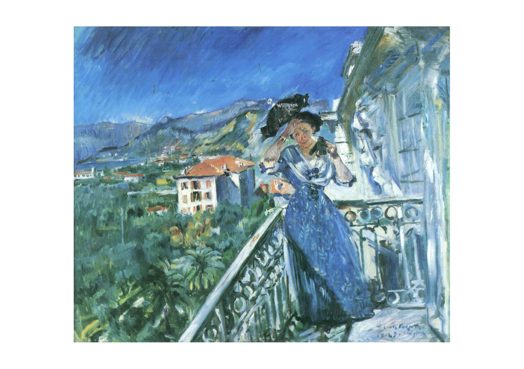 Lovis Corinth - In Bordighera 1912