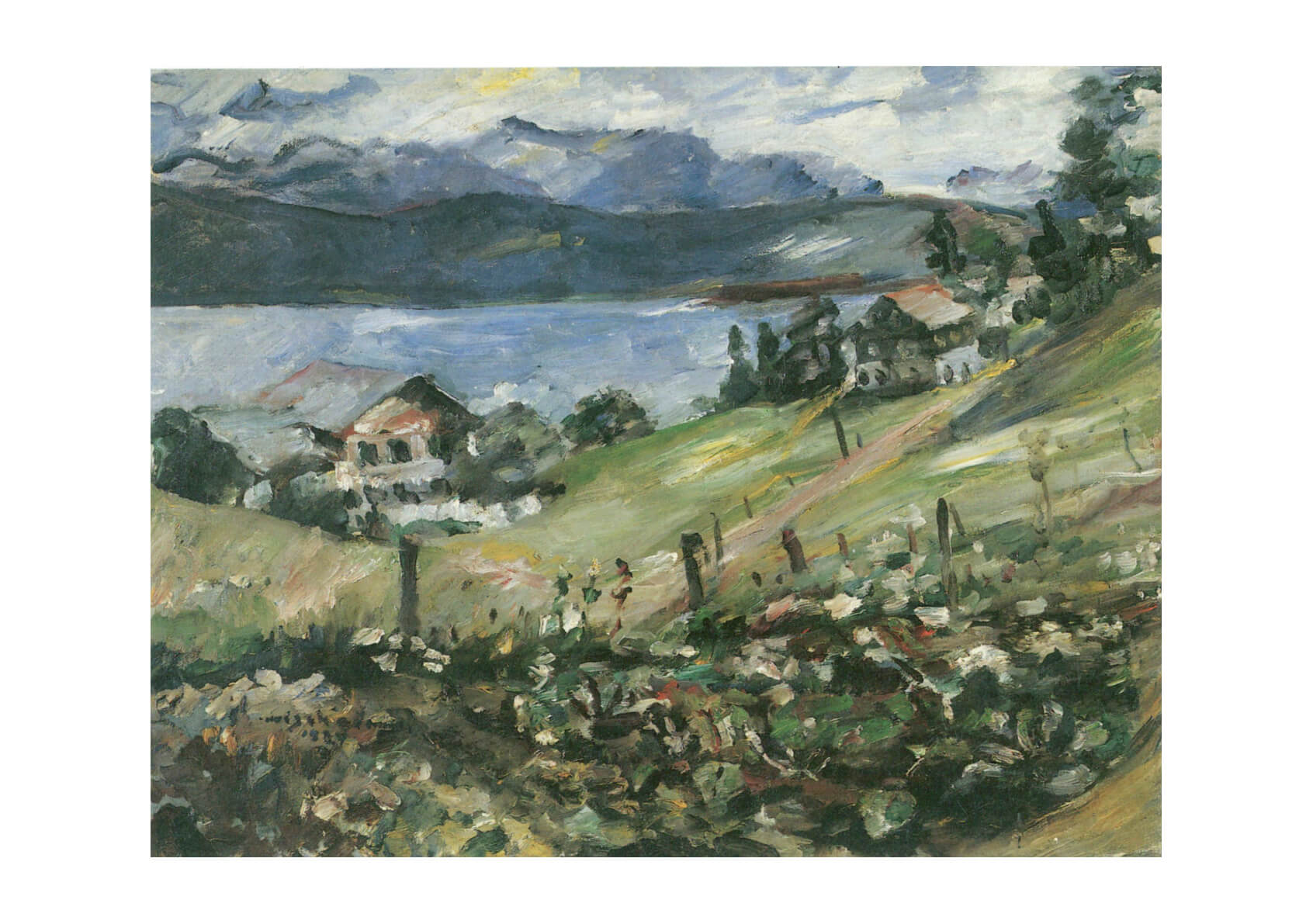 Lovis Corinth - Landscape with Water