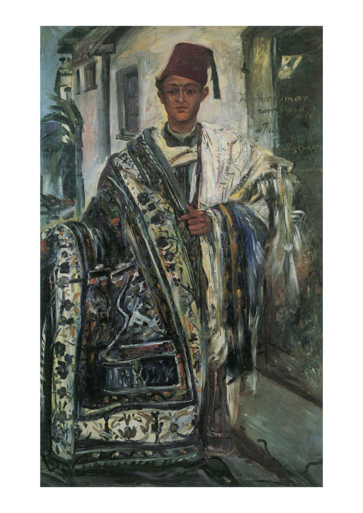 Lovis Corinth - Man with Rug