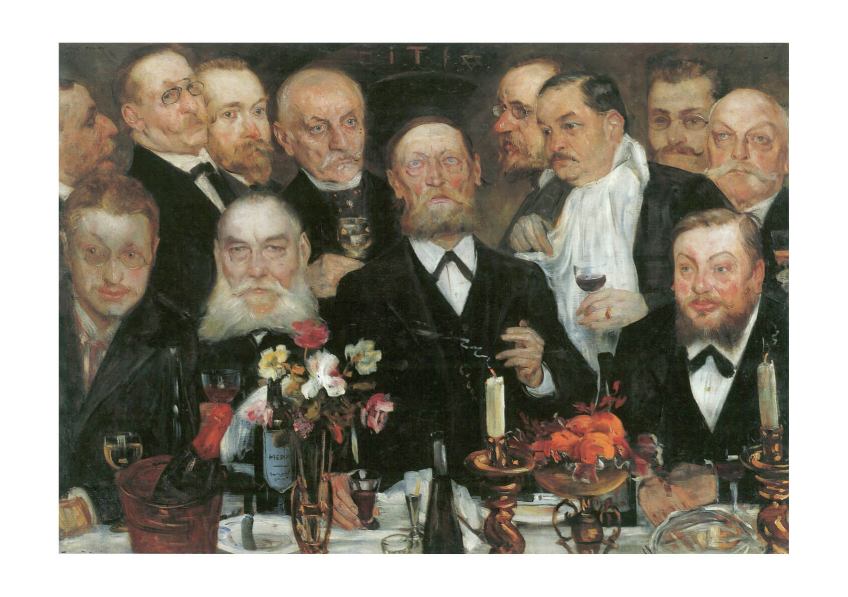 Lovis Corinth - Men in Suits
