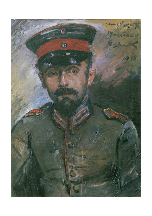Lovis Corinth - Military Portrait