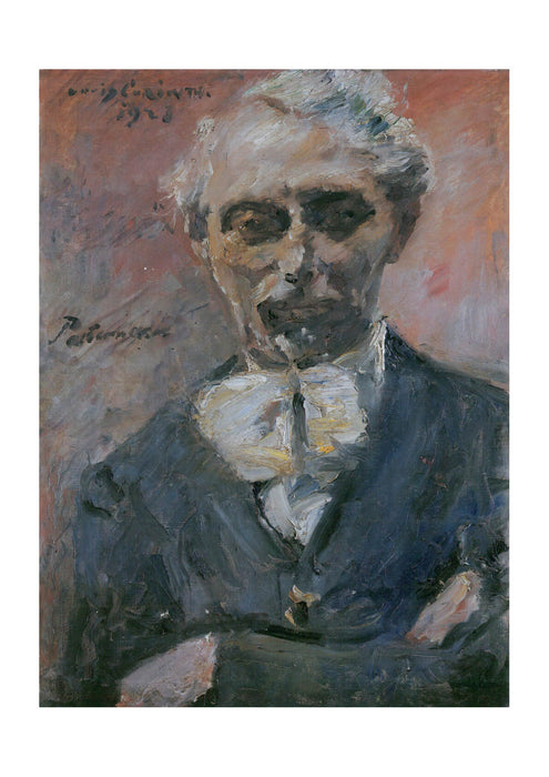 Lovis Corinth - Old Portrait