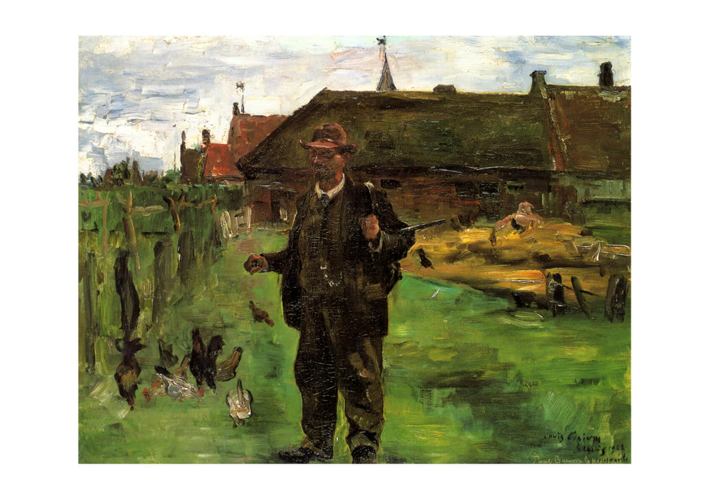 Lovis Corinth - Paul Baum in Sluis 1908