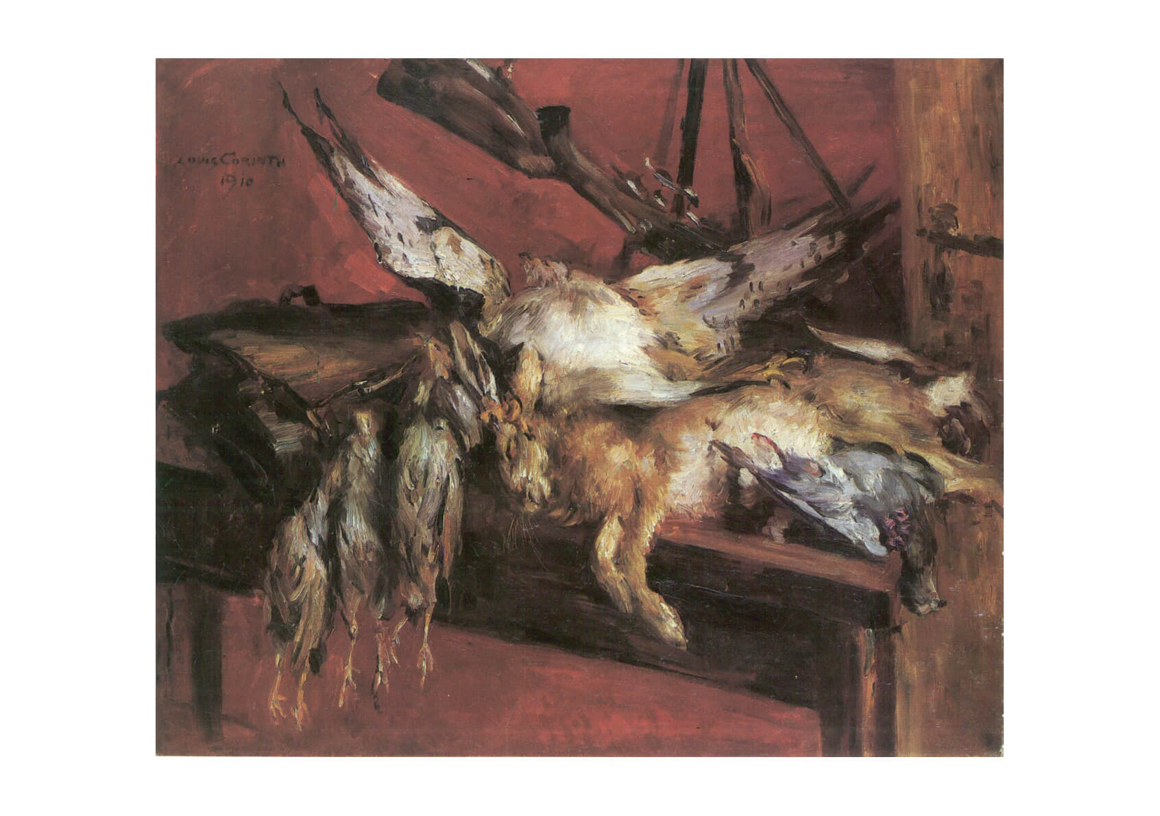 Lovis Corinth - Poached Animals