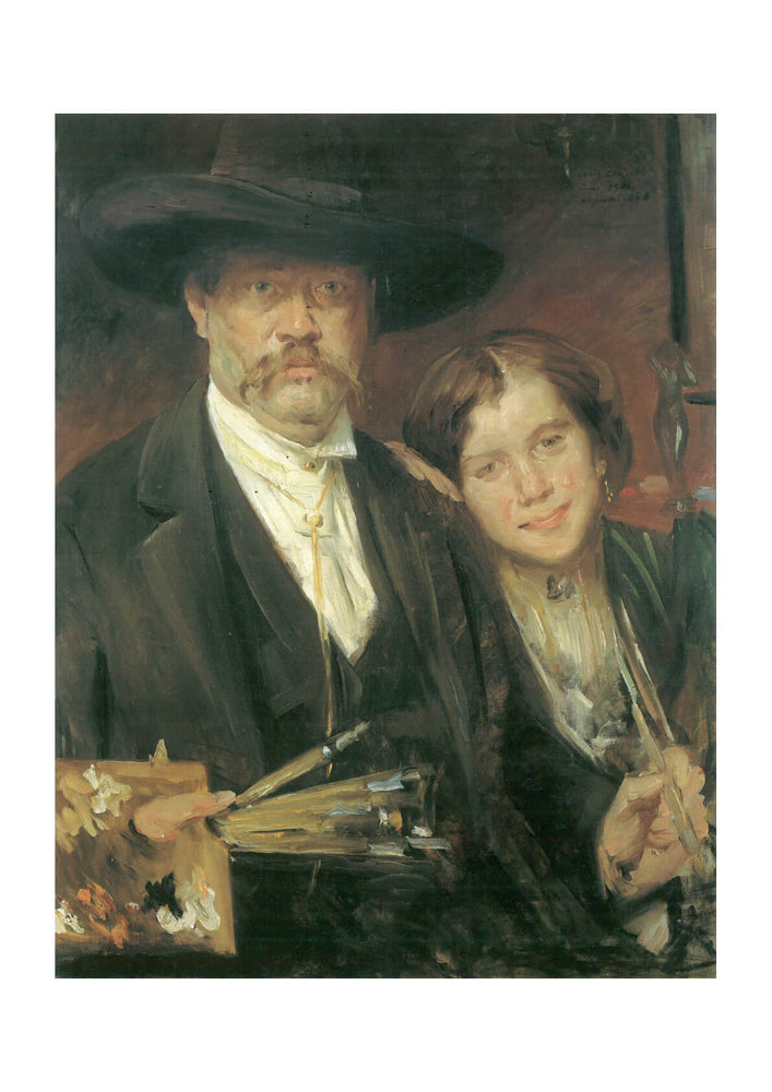 Lovis Corinth - The Artists