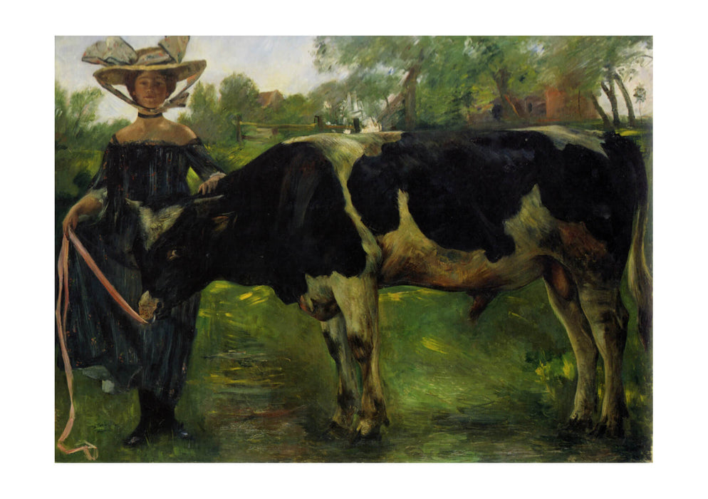 Lovis Corinth - Woman and Cow