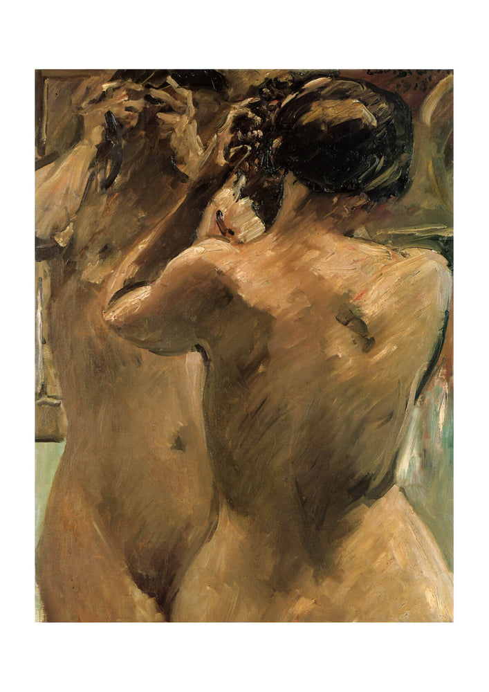 Lovis Corinth - Woman in Mirror