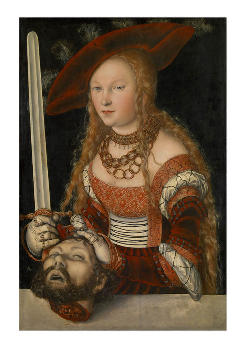 Lucas Cranach The Elder - Judith With Head Of Holofernes