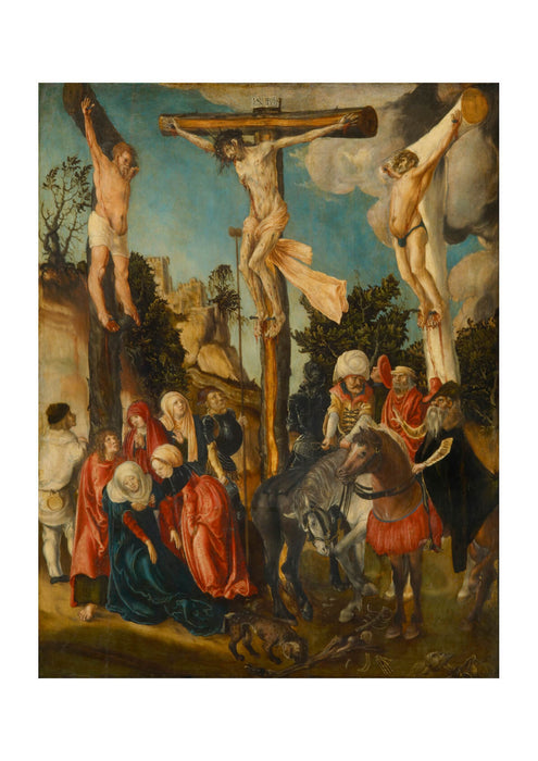 Lucas Cranach The Elder - The Crucifixion 679844
